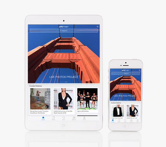 The Getty Images App